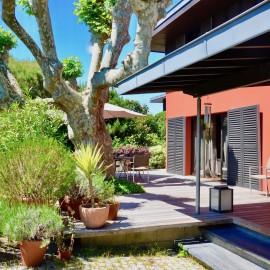 Le Bouscat, maison d'architecte de 230 m2 avec jardin de 480 m2, 3 chambres