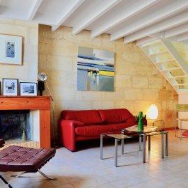 Échoppe de 75 m2, 2 chambres, avec jardin et cave - Bordeaux Caudéran Grand Lebrun