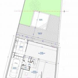 Le Bouscat centre - Maison totalement rénovée, 195 m2, jardin, piscine, garage, 4 chambres - Proche commerces, écoles, Tram, Bus - Livraison en octobre 2020
