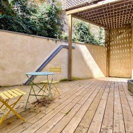 Plateau Loft à aménager de 120 m2, Bordeaux Chartrons, terrasse de 32 m2